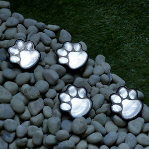 LED-Solar-Power-Paw-Animal-Prints-Lights-Garden-Outdoor-Lamp-Path-Landscape-New