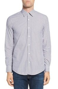 NWT-Pal-Zileri-Plaid-Sport-Shirt-NWT-16-5