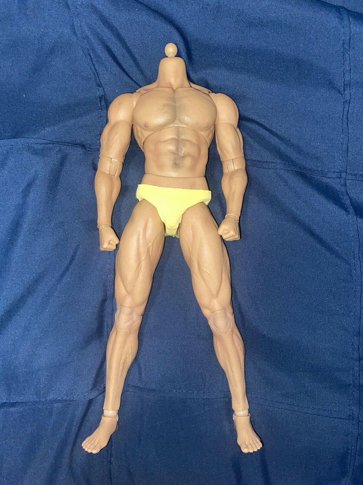 "Worldbox AT027 1/6 Muscular Male Strong Durable Body 12"" fr Phicen Hot Toys DMGD on eBay thumbnail"