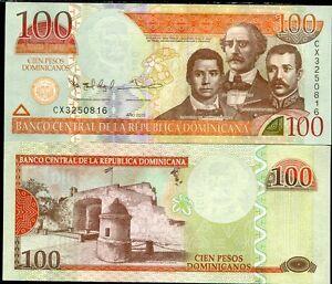 DOMINICAN-REPUBLIC-100-PESOS-2013-P-184-UNC