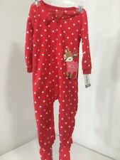 item 3 CARTER S TODDLER GIRLS FLEECE HOLIDAY ONE PIECE POLKA DOT RED WHITE  2T NWT -CARTER S TODDLER GIRLS FLEECE HOLIDAY ONE PIECE POLKA DOT RED WHITE  2T ... 36e39f6da131