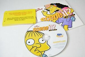 the-Simpsons-deluxe-Scene-It-dvd-game-replacement-pieces-dvd-amp-buzz-cards