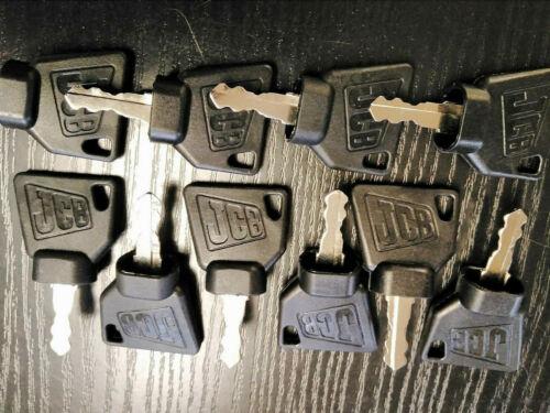 JCB Schlüssel Ersatzschlüssel für Baumaschinen Radlader Minibagger Bagger Lader