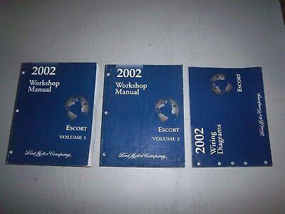 2002 Ford Escort Service Shop Repair Manual Electrical ...