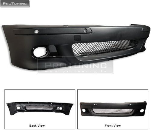 Front BUMPER With PDC For BMW E39  holes washer jet M5 M look sport