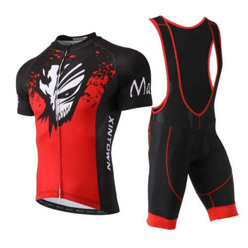 2018 Cycling Bike Clothing set Short Sleeve MTB Bicycle Jersey Shirt Top XR1018