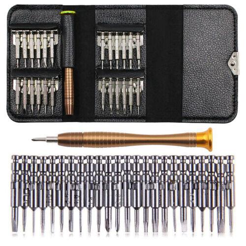 25 in1 Precision Torx Tournevis Téléphone Portable Réparation Outil Kit Pour iPhone Ordinateur Portable