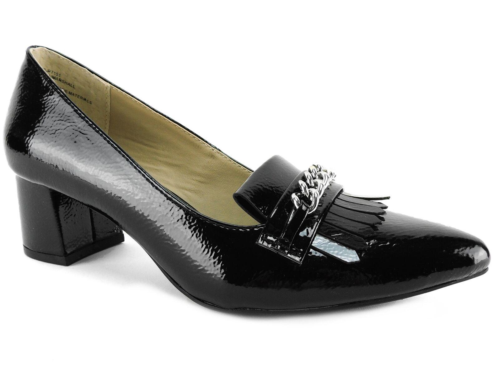 Rialto Women's Marshall Block-Heel Dress Pump Black Size 7 M