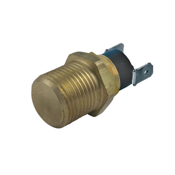 American Volt 4 Pack 190f Brass Probe Thermostat Switch 1//8 Npt Fan Temperature Sensor Probe