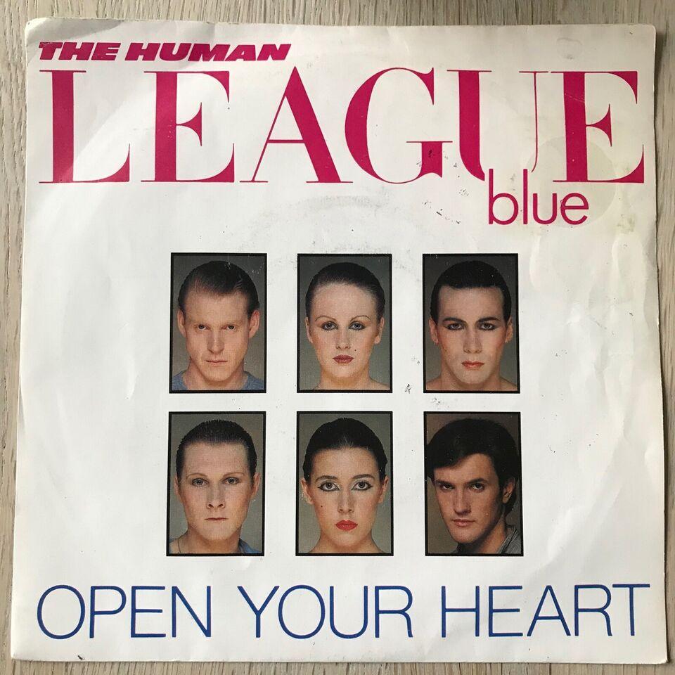 Single, The Human League, Open Your Heart/Non-Stop