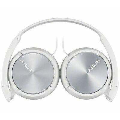 Sony Headphones MDR-ZX310AP Foldable Stereo Headset Earphones  For Music - White