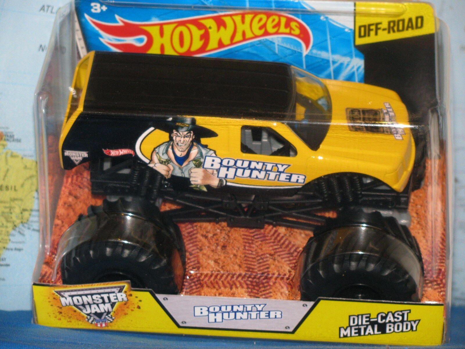 1 24 Hot Wheels Confiture de Monstre Chasseur de tête Camion Miniature Corps