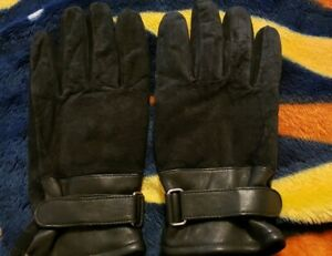 Mens-3M-Thinsulate-40-gram-Thermal-Insulated-Lined-Winter-Leather-Gloves-L