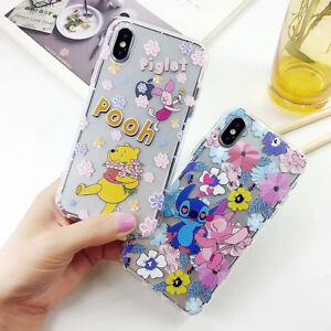 Disney Stitch Winnie Phone Case Cover