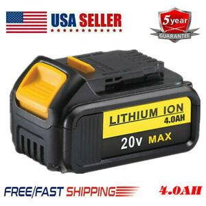 DCB204-2-20-Volt-Max-XR-4-0AH-Lithium-Battery-For-DeWalt-DCB200-DCB205-DCB206