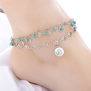 Multilayer-Boho-Beads-Barefoot-Sandal-Anklet-Foot-Chain-Jewelry-Ankle-Bracele-I2