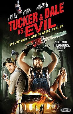 TUCKER AND DALE VS EVIL Movie Poster Horror Comedy Zombies Dead