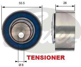 FOR FORD KA 1.2 8V 2008--/> TIMING CAM BELT TENSIONER KIT WATER PUMP SET