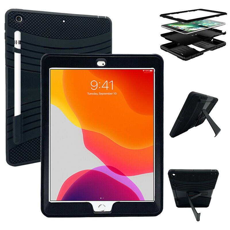 kickstand hybrid case cover for ipad 7th