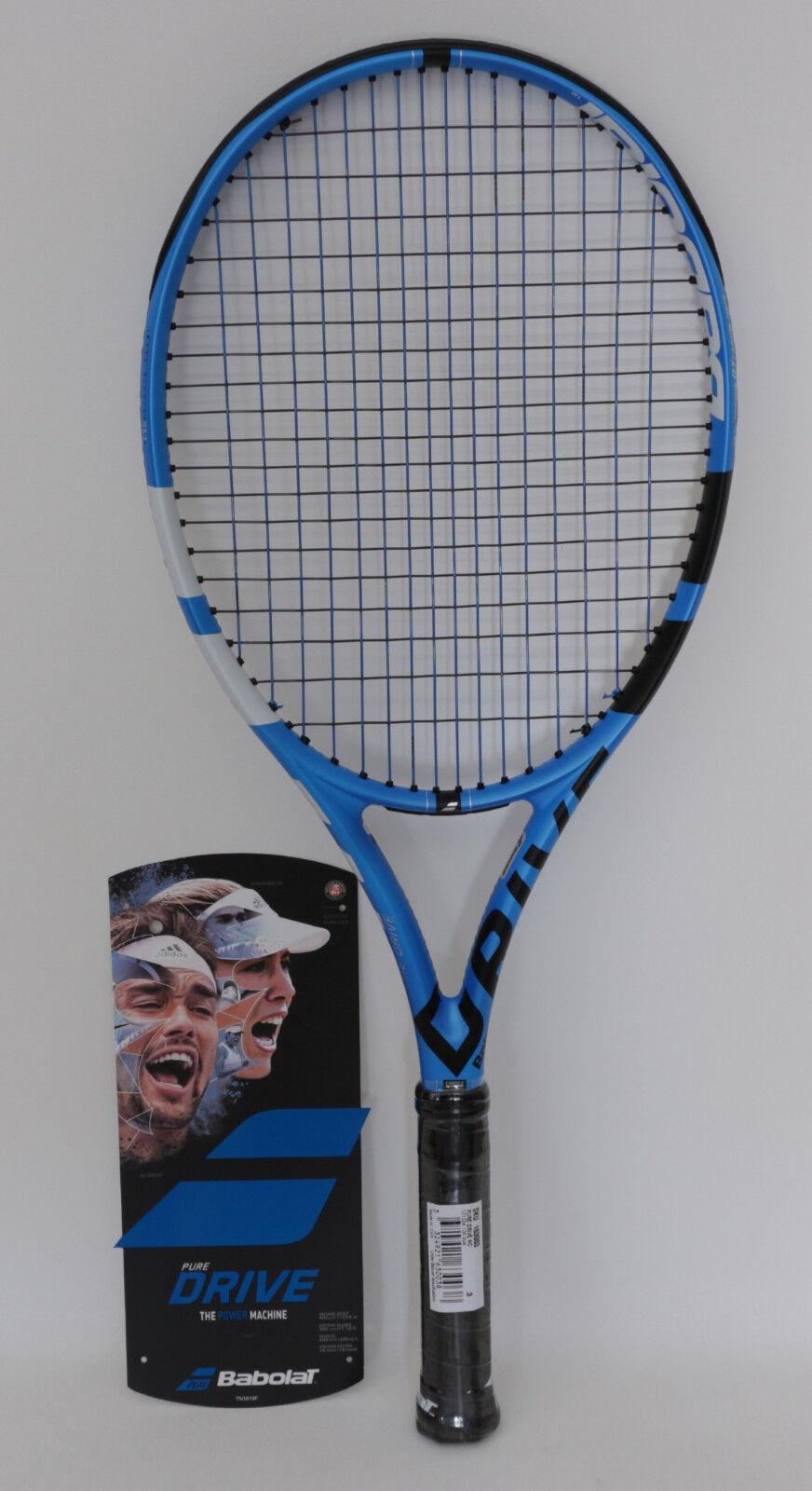 Raqueta de tenis  el actual Babolat Pure  Drive, con diseño Profi-besaitung   online barato