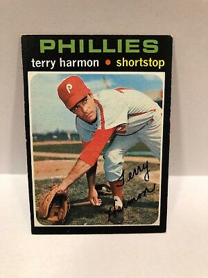 1971 Topps Terry Harmon Philadelphia Phillies 682 Baseball Card