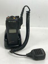Motorola Xts1500 P25 Digital Portable Two Way Radio With Mic Amp Charger