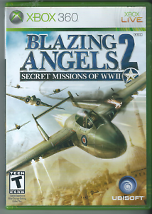 Blazing-Angels-2-Secret-Missions-of-WWII-Xbox-360-2007-Complete-w-Manual