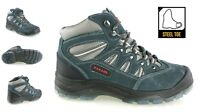 MENS NEW SAFETY STEEL TOE CAP SAFETY WORK HIKER TRAINERS ANKLE BOOTS SHOES SIZE