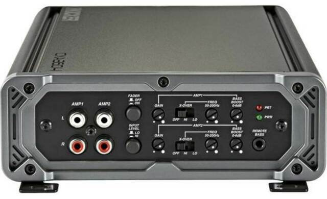 Audiopipe AQX360.4 1360W Max Class AB 4-Channel Car Amplifier Brand New Low $