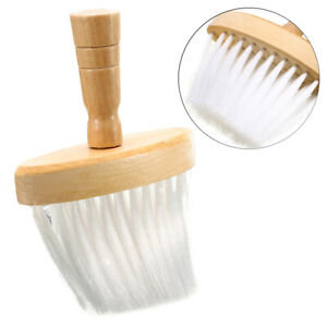 Wooden-Handle-Barber-Wide-Neck-Duster-Brush-Hairdressing-Hair-Cutting-Tool-US