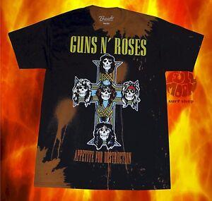 New Guns N Roses GNR Appetite for Destruction Classic Retro T-Shirt