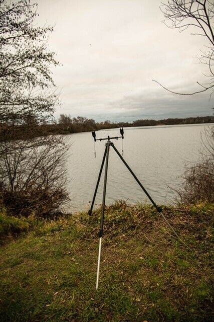Carptrix River  Tripod, Adjustable Height, Add any Buzz Bar, Barbel Pod FREE P&P  sale