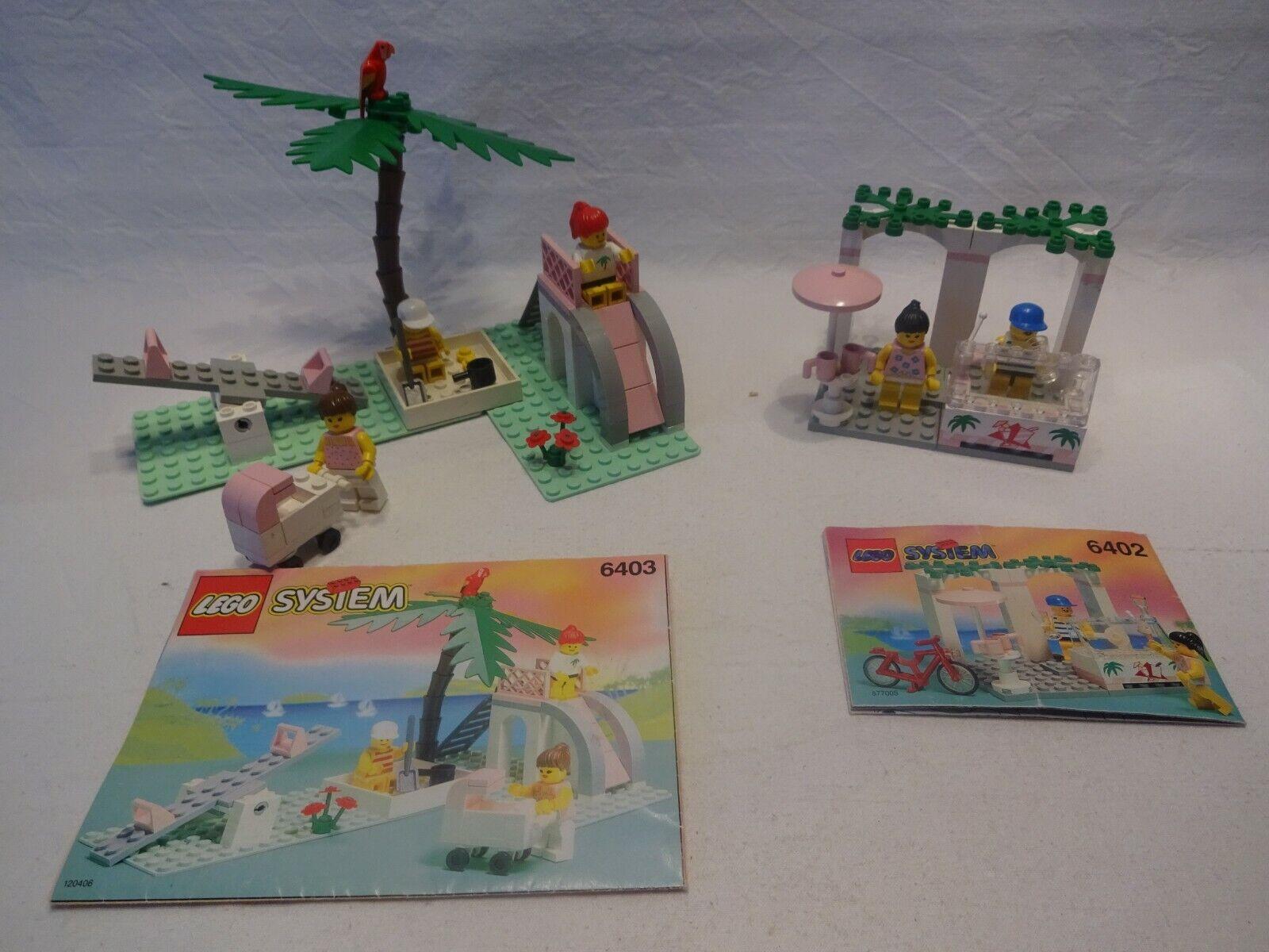 Lego Fabuland 4452 Container Box 6x6 White Blanc du 3637 /& 6403 Paradisa F17