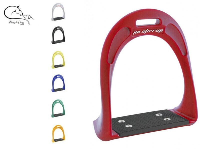 Genuine JIN   EVOL Plastic  STIRRUPS Light Weight Plastic Seven Colours FREE P&P