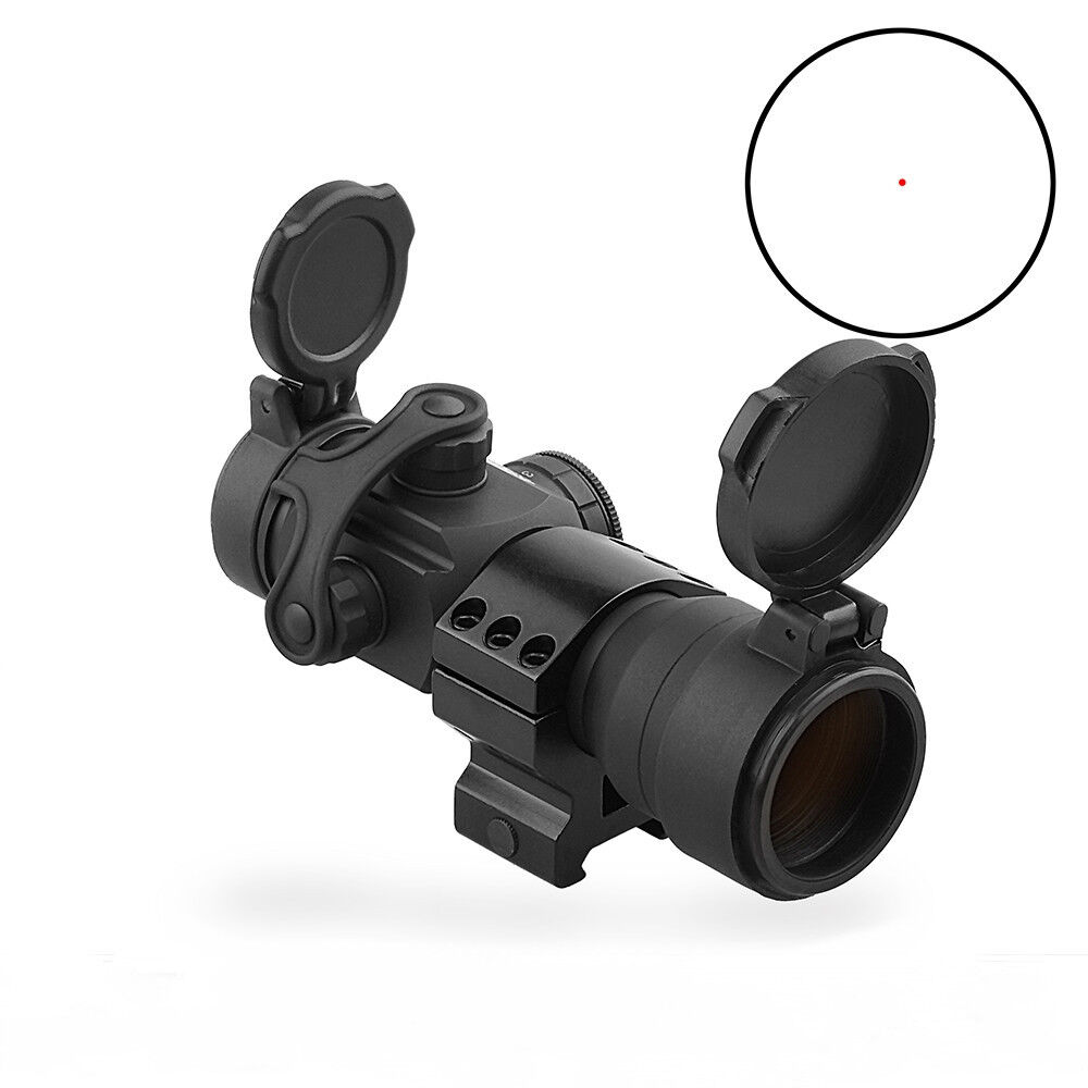Tactical RD 1X35 Red Dot Optical Sight Hunting Rifle Scope Fit 20mm Picatinny