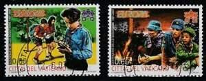 Vaticaan-gestempeld-2007-used-1576-1577-Europa-Scouting