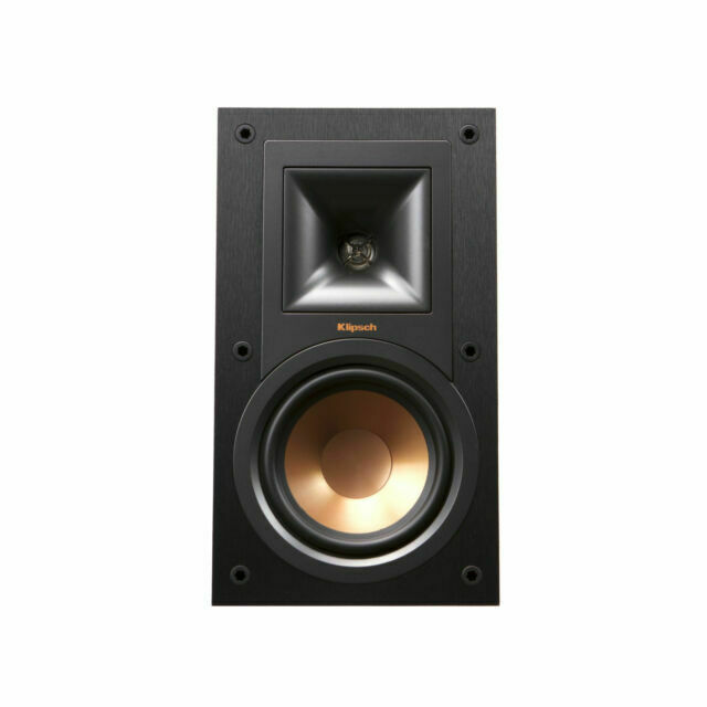 Klipsch R-15M - Reference 5-1/4 Bookshelf Speakers  - Black
