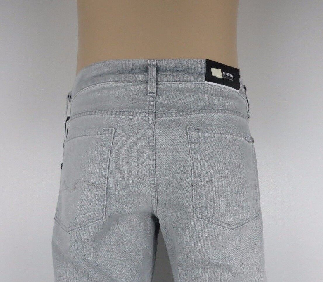 NWT 7 SEVEN FOR ALL MANKIND, SLIMMY, CLDY, Size 31, Retail