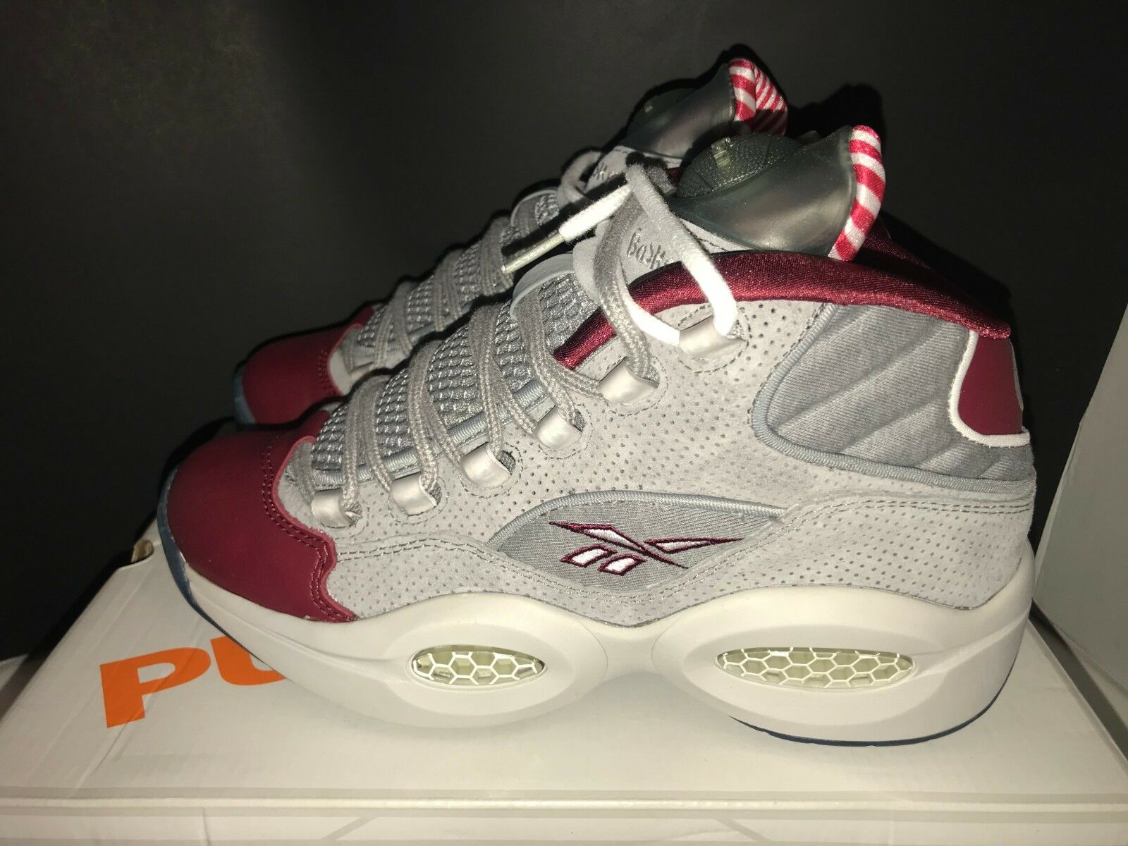 Reebok x Villa Question Mid A Day In Philly Men's Size 8.5 9.5 Rare