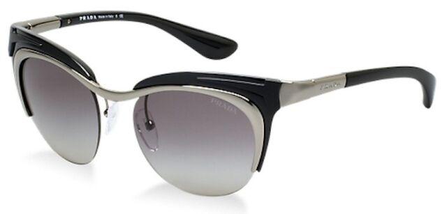 ec6d191e39 ... shop prada sunglasses spr 68o black 5av 3m1 spr68o 49mm new 425 made in  italy womens