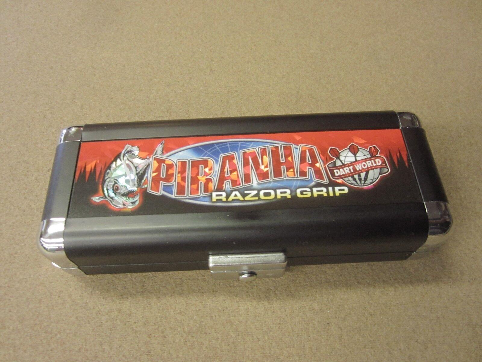 Piranha Razor Grip 24g Steel Tip Darts 90% Tungsten 19515 w/ w/ 19515 FREE Shipping c83c96