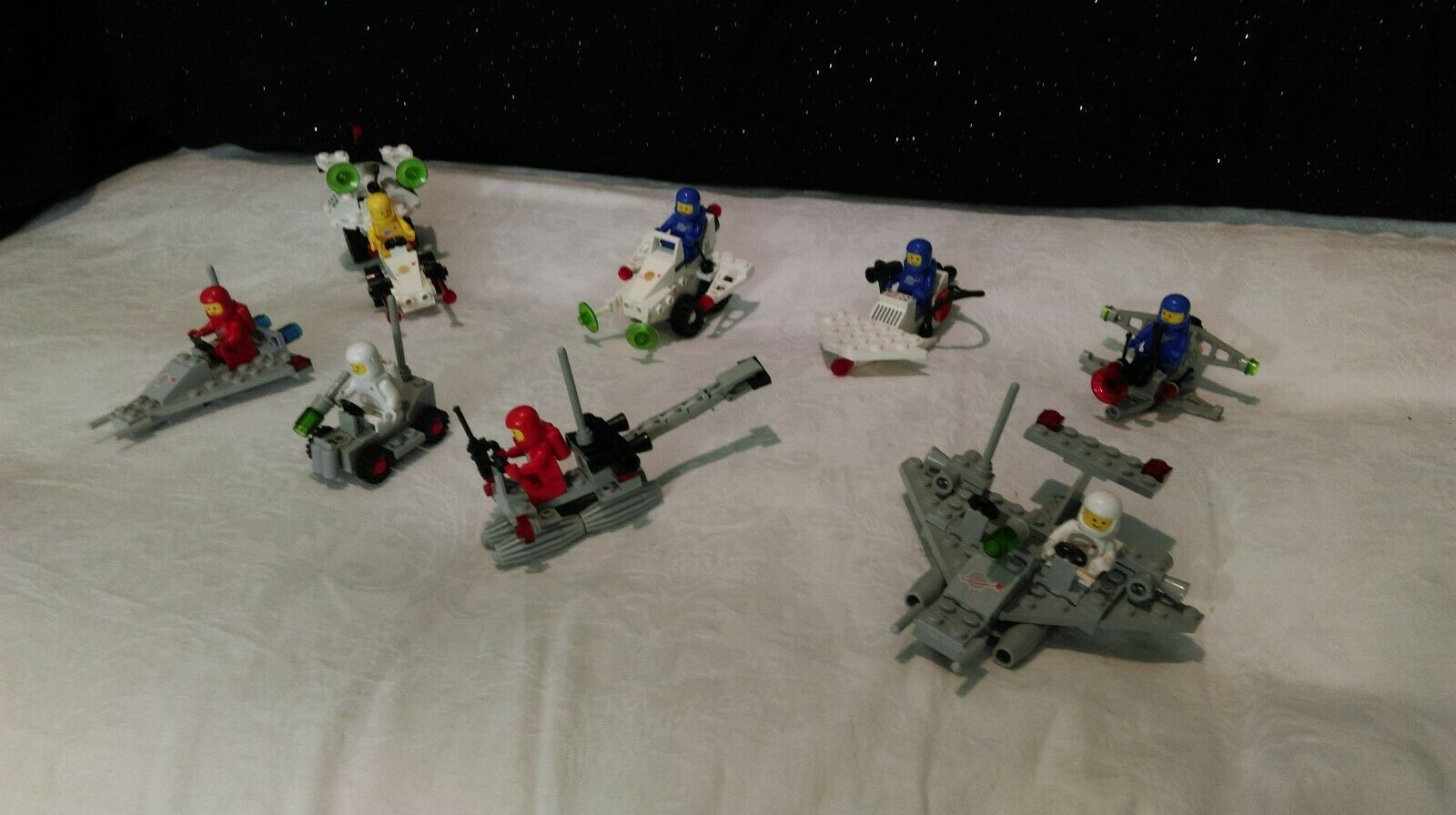 Lego vintage classic classic classic space  8 sets  B 100% 3aee8c