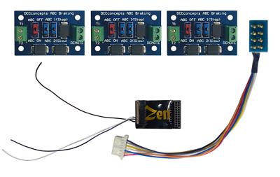 Dcc Concept Dcd-zn218.6s Zen Black Decoder 21 8 Pin 6 Fun 23x16.5mm 3x Abc Modul Prestazioni Affidabili