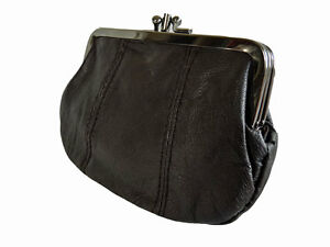 Leather Coin Purse Pouch GIFT BOXED Premium Soft Real leather ladies Purses Q294