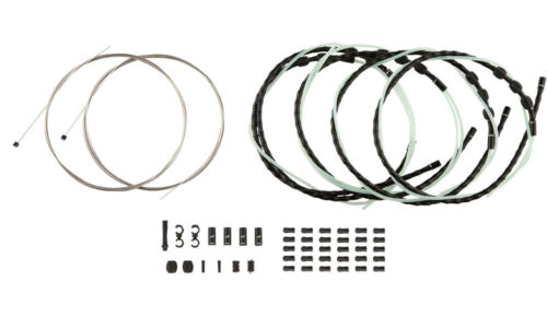 Black ALY gobike88 Jagwire MCK750 Mountain Elite Link Shift Cable Kit