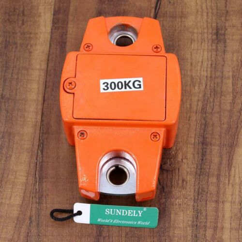 300kg//600lb Heavy Duty Digital Crane Scale Hanging Mini Hook Weighing Luggage UK