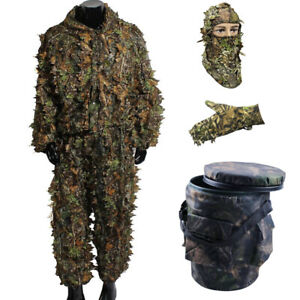 Hunting-3D-Leaf-Sneaky-Camo-Face-Mask-Headwear-for-Woodland-Stealth-Ghillie-Suit