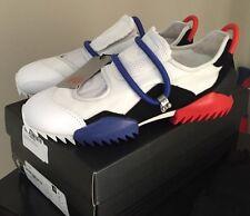 New ADIDAS Y-3 SLY YOHJI YAMAMOTO Honja Sala Tokyo Moc Leather Sneakers sz 8.5