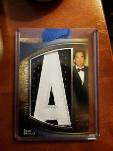 2009-Upper-Deck-Icons-Movie-Lettermen-ML-BB-Beau-Bridges-Football-Card-48-50
