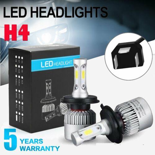 Cree LED Bulbs Headlight KIT H4 9003 High Low Beam 200W for Toyota Vios//Yaris